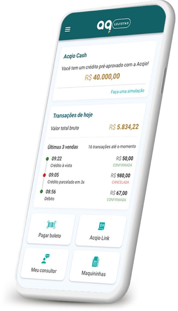 Acqio Link - App Lojistas