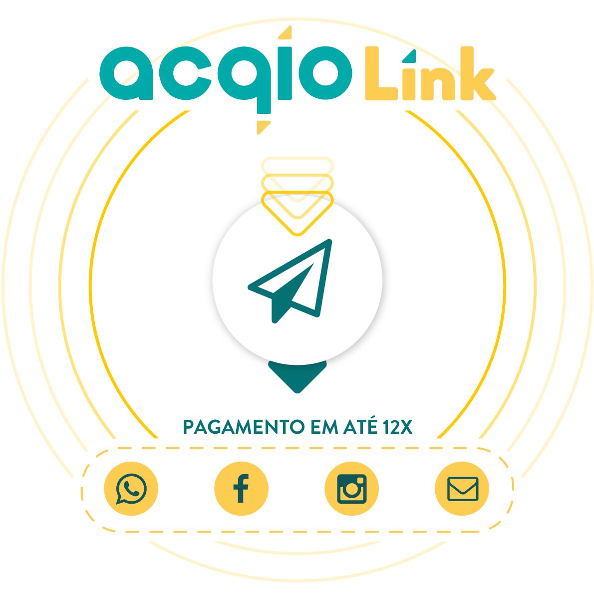 Acqio Link - Venda nas redes sociais